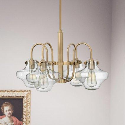 BEST411 2 světlo na strop antická mosaz luxusní se sklem obchod svitidla pikomal senemty sava jpg