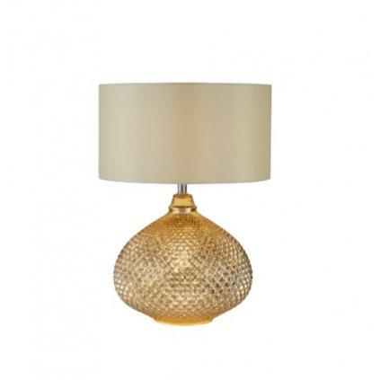 DT62 stolní lampa zlatavé barvy