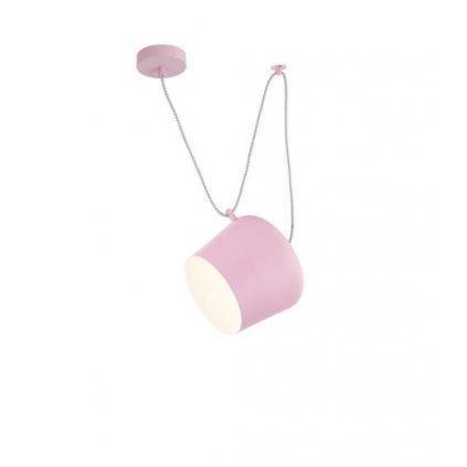 DT58 závěsné svítidlo růžová barva