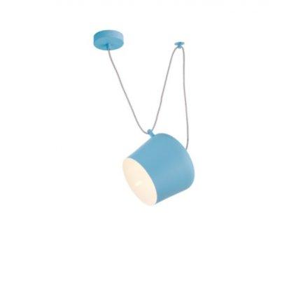 DT56 závěsné svítidlo v modré barvě
