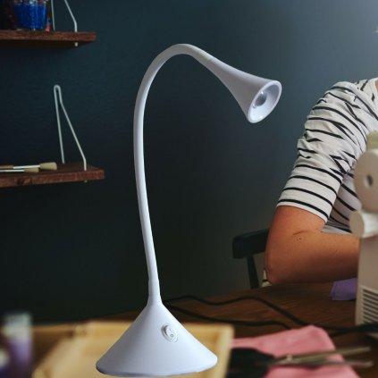 NEWTON white lampicka led bila obchod svitidla pikomal