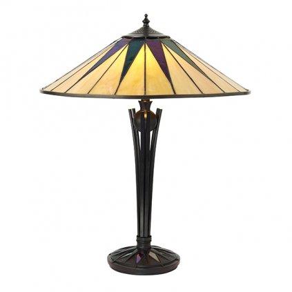 64045 DARK STAR stolní lampa 2x60W barva krémová