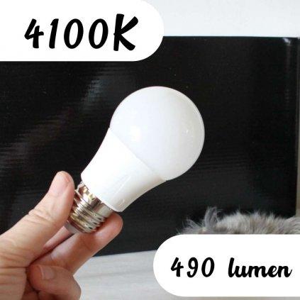 30329 žárovka barva 4100K denní bílá neutrální 6w e27 ledlam obchod svitidla pikomal