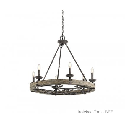 KL TAULBEE 6 ELSTEAD stylový lustr 6xE14 na www pikomal cz