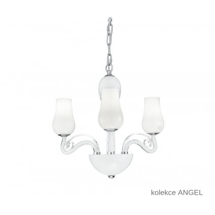 I ANGEL 3 FANEUROPE závěsné bílé skleněné svítidlo na www pikomal cz