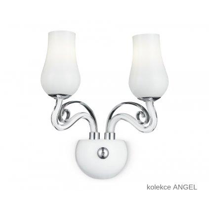 I ANGEL AP2 FANEUROPE na stěnu bílé skleněné svítidlo na www pikomal cz