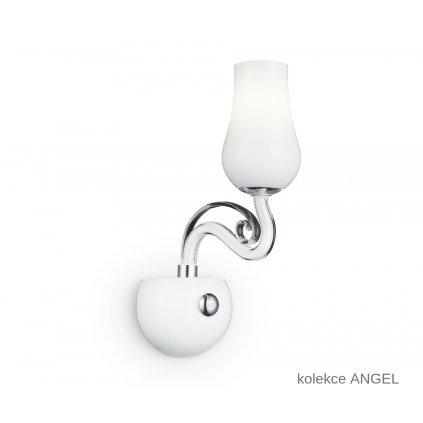 I ANGEL AP1 FANEUROPE na stěnu bílé skleněné svítidlo na www pikomal cz