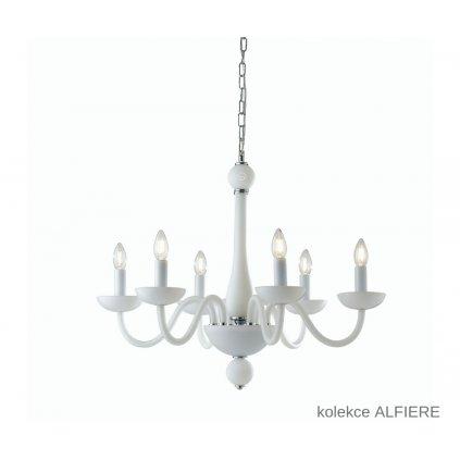 I ALFIERE 6 BCO FANEUROPE závěsné bílé skleněné svítidlo na www pikomal cz