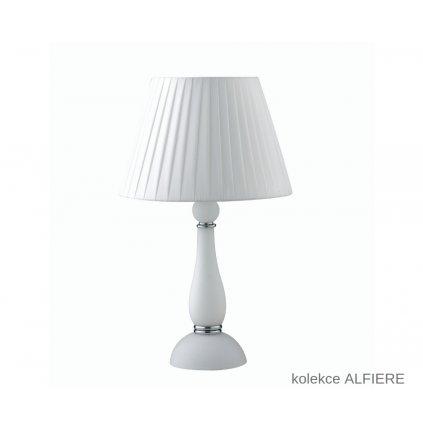 I ALFIERE L1 BCO FANEUROPE stolní bílé skleněné svítidlo na www pikomal cz