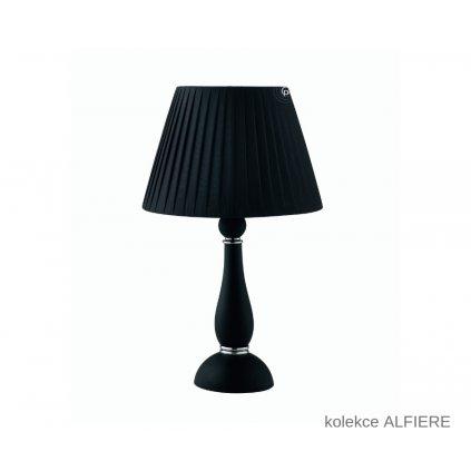I ALFIERE L1 NERO FANEUROPE stolní černé skleněné svítidlo na www pikomal cz