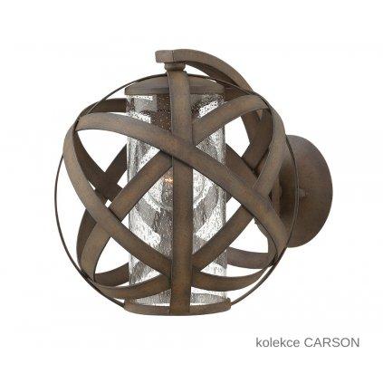 HK CARSON 1 ELSTEAD přisazené venkovní svítidlo www pikomal cz
