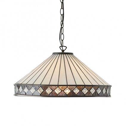 64147 FARGO interiors1900 závěsné svítidlo Tiffany na www pikomal cz