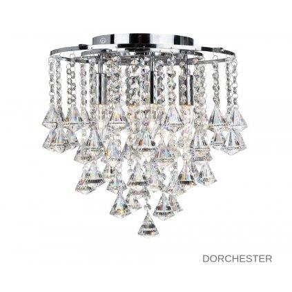 3494 4CC DORCHESTER stropní svítidlo 4xE14 lesklý chrom