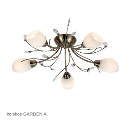 1765 5AB GARDENIA Searchlight stropní svítidlo www pikomal cz