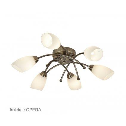 8186 6AB OPERA Searchlight stropní svítidlo www pikomal cz