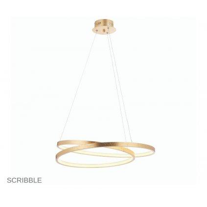 72479 SCRIBBLE závěsné LED svítidlo na www pikomal cz