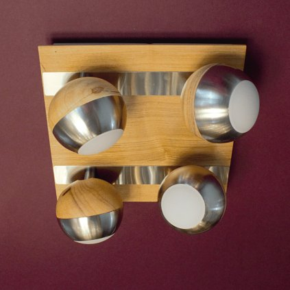 bodovky na liště kulaté dřevo LED obchod svitidla dagmar touskova pikomal 762032 4