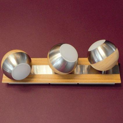 bodovky na liště kulaté dřevo LED obchod svitidla dagmar touskova pikomal 762032 3