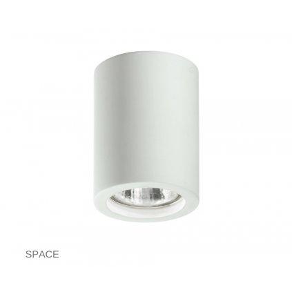 I SPACE S R1 FANEUROPE na strop bílé přisazené svítidlo na www pikomal cz