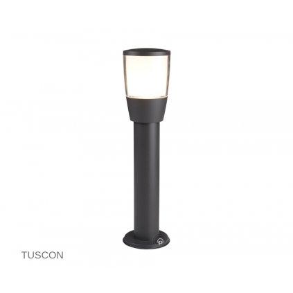 0598 450GY TUSCON venkovní svítidlo sloupek na zem 1xE27 tmavě šedá www pikomal cz