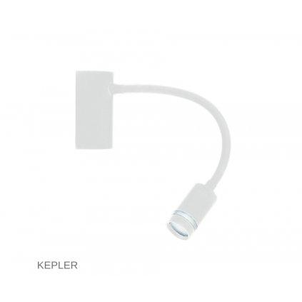 LED KEPLER BCO bílé čtecí svítidlo na www pikomal cz