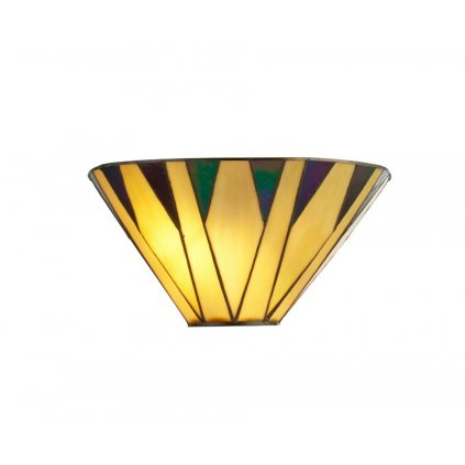 7064-1 CHARLESTON 1xE14 nástěnné svítidlo žlutá
