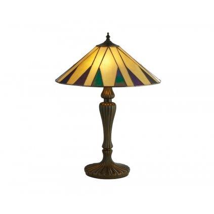 EU7065-42 CHARLESTON 2xE27 stolní lampa žlutá