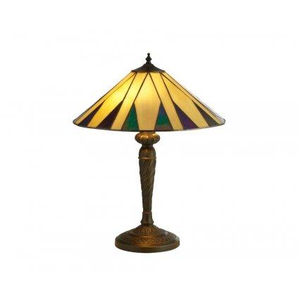 EU7066-42 CHARLESTON 2xE27 stolní lampa žlutá