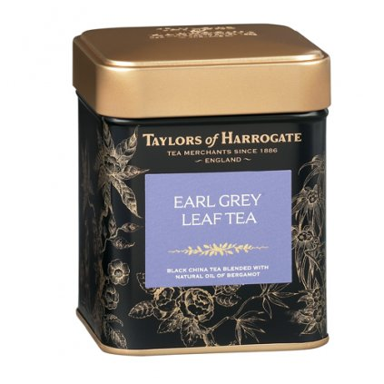 English EARL GREY LEAF TEA sypaný (125g)