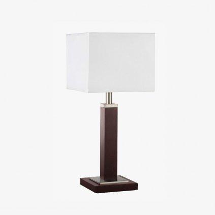 EU8877BR stolní lampa dřevo a textil obchod svitidla pikomal
