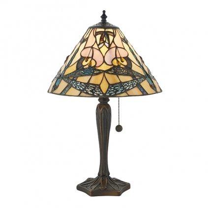 63924 Ashton 1xE14 stolní lampa růžová (M2)