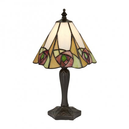 64185 Ingram 1xE14 stolní lampa růžová