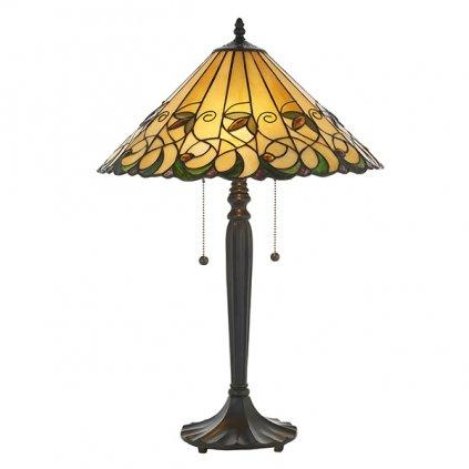 64197 Jamelia 2xE27 stolní lampa zelená