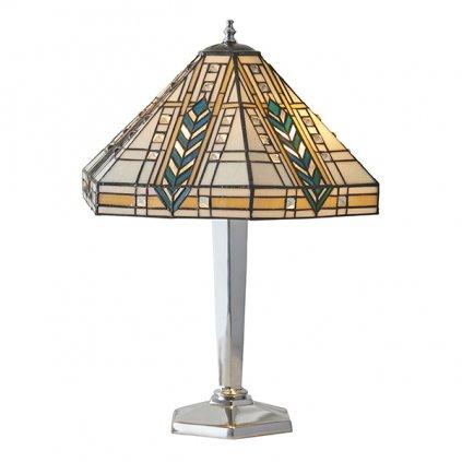 64241 Lloyd 2xE27 stolní lampa žlutá