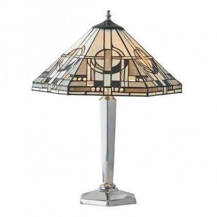 64260 Metropolitan 2xE27 stolní lampa šedá