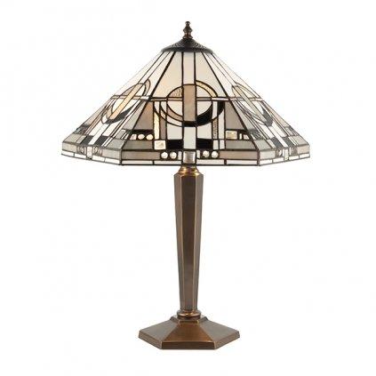 64263 Metropolitan 2xE27 stolní lampa šedá