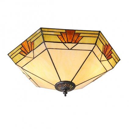 64284 Nevada 2xE27 stropní svítidlo žlutá