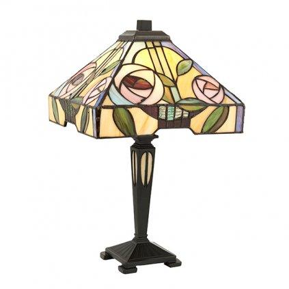 64386 Willow 1xE14 stolní lampa zelená