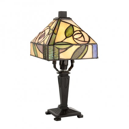64388 Willow 1xE14 stolní lampa zelená