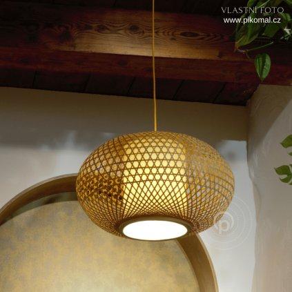 zavesne svitidlo bambus prirodni material obchod svitidla pikoaml dagmar touskova i zen xxl