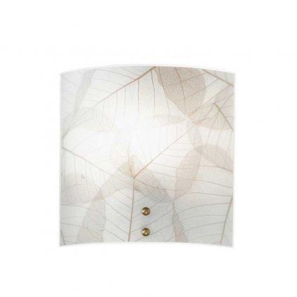 eden na stenu svitidlo listy prirodni 26x26cm obchod svitidla pikomal faneurope