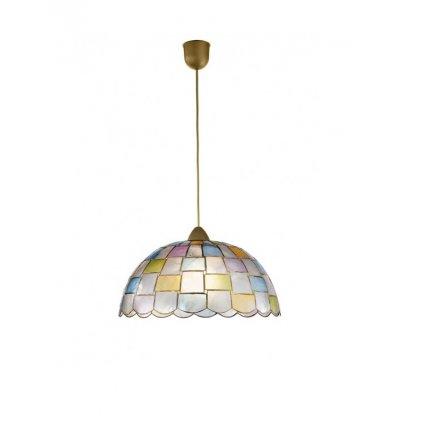 8031433561204 PAULA perleťové čtverečky lustr
