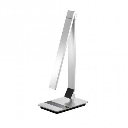 Stolní lampa na psací stůl pracovní LED obchod svitidla pikomal stříbrná stmívací studené a teplésvetlo