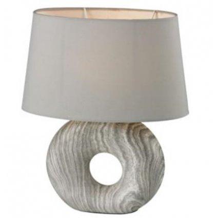 20500 Liz lampička na stůl v šedé barvě