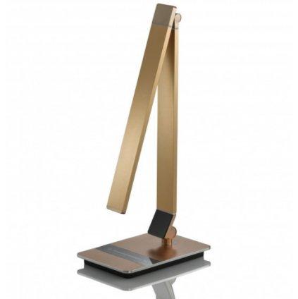 722007 YUNA stolní pracovní lampa broušený hliník v barvě bronzu
