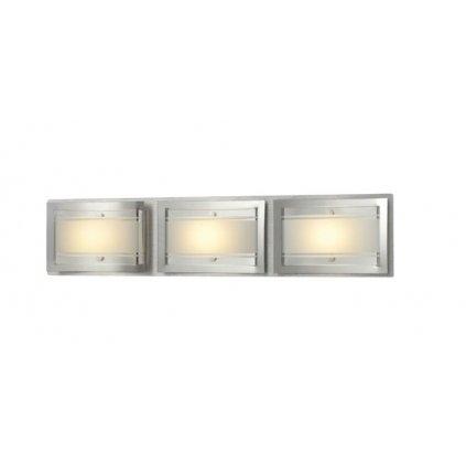 740040-3 ADONIE kov lesklý chrom a sklo 3x5W