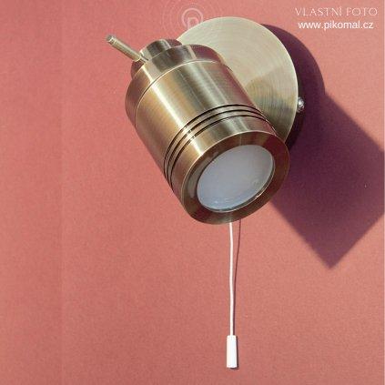 bodovka IP44 antická mosaz obchod svitidla pikomal dagmar touskova searchlight do koupelny kovova