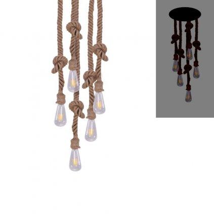 závěsné provazové svítidlo nad stůl obchod svitidla pikomal