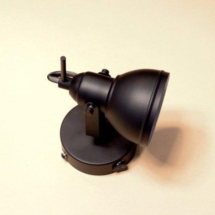 Bodovka černá barva s vypínačem Dagmar Toušková Searchlight 1541BK pikomal obchod svítidla detail