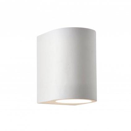8436 GYPSUM svítidlo na stěnu 1xG9 sádrové svítidlo